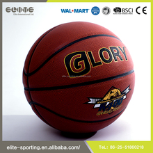 High quality pvc laminated basketball , rubber basketball size 7 , custom basketball ball