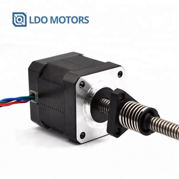 Nema17 Lead Screw Stepper Motor, Linear Stepper Motor with Anti-backlash Nut