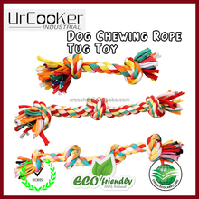 HOOPET wholesale dog rope toy natural knot rope dog chew toy
