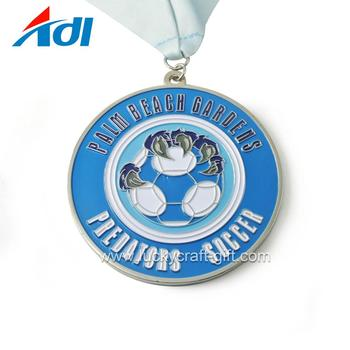 Customize sport metal football soccer award medal for sale