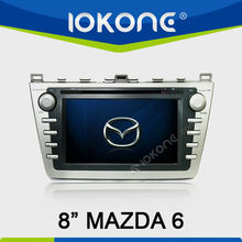 2 din in dash Car DVD GPS for Mazda 6 with TV/IPOD/BT/SWC/3G/WIFI