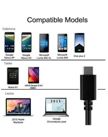 reversible usb accessory phone usb type-c tranfer data and charging cable