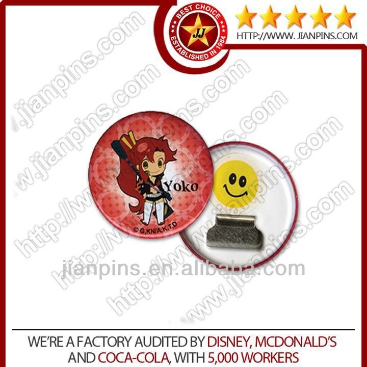 Hot sell advertising promotion button badge