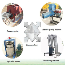 Doing brand yam flour manufacturing plant machine
