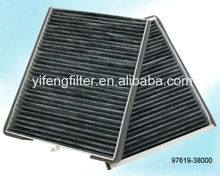 Cabin Filter 97619-08000 for Hyundai Sonata/ Trajet