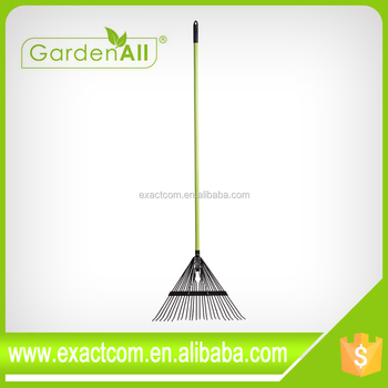GARDEN TOOL LONG HANDLE GARDEN RAKE