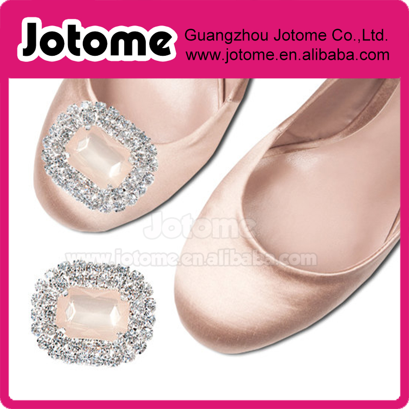 Wedding Bridal Rhinestone Crystal Shoe Clip Embellishment for Bridal Shoes