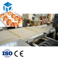 HYSMX-600 Stainless steel Automatic croissant line bakery equipment croissant bread plant commercial croissant machine