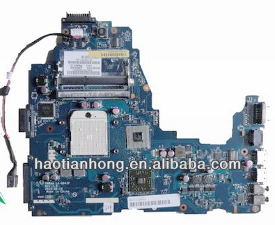 for Toshiba C660 C660D laptop motherboard K000111560 LA-6843P with good quality