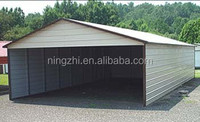 car parking shed roof and post