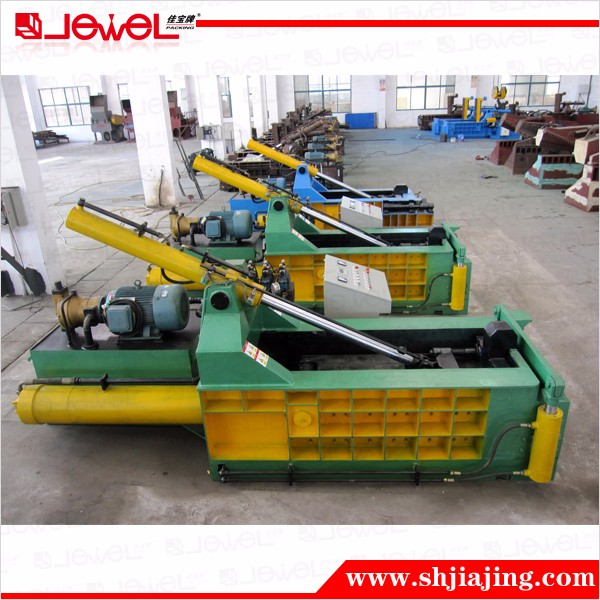 CE factory direct sale hydraulic used scrap metal baling press machine