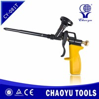 CY-081T High Performing Spray pu Foam Insulation Applicator Gun With Stainless Steel Gun Barrel and Adjusting Adaptor