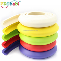 Baby safety proof plastic furniture edge trim / foam corner protector