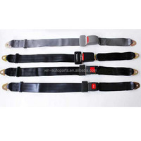 Bus Seat Lap Belt with sensor/ ehicle 2 Points Safety Belt/Car safety seat belt