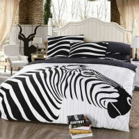 nice design digital printed bedsheet