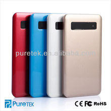 Hot selling portable cell phone power bank 5000mAh