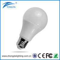 A60 Guangdong ZhongShan factory 110V 220V 10W E27 Led Light Bulb