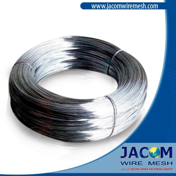 2.41mm Hot Dipped Galvanized Wire 60gr Zinc 600N/mm2 Tensile Strength