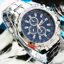 China Supplier Cheap Mens Steel Strap Automatic Business Watch