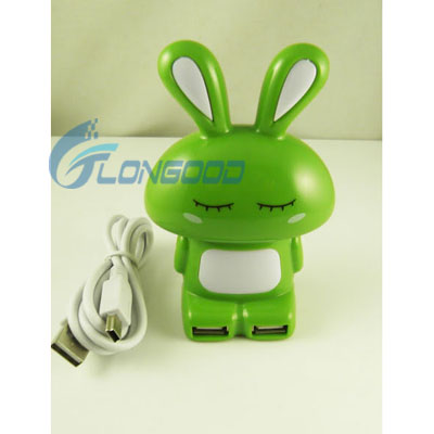 Cute Rabbit 2.0 High Speed 4 Port Fine USB HUB