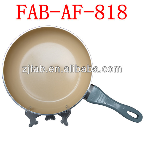 Color Available Aluminum Forged Nano Ceramic Frypan