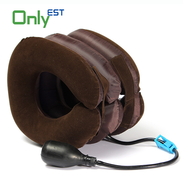 Comfortable Medical Equipment Full Flannel Neck Traction