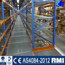 Warehouse Heavy Duty Multi-tier Pallet Mezzanine Rack
