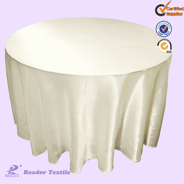 wholesale Ivory table cloth for party