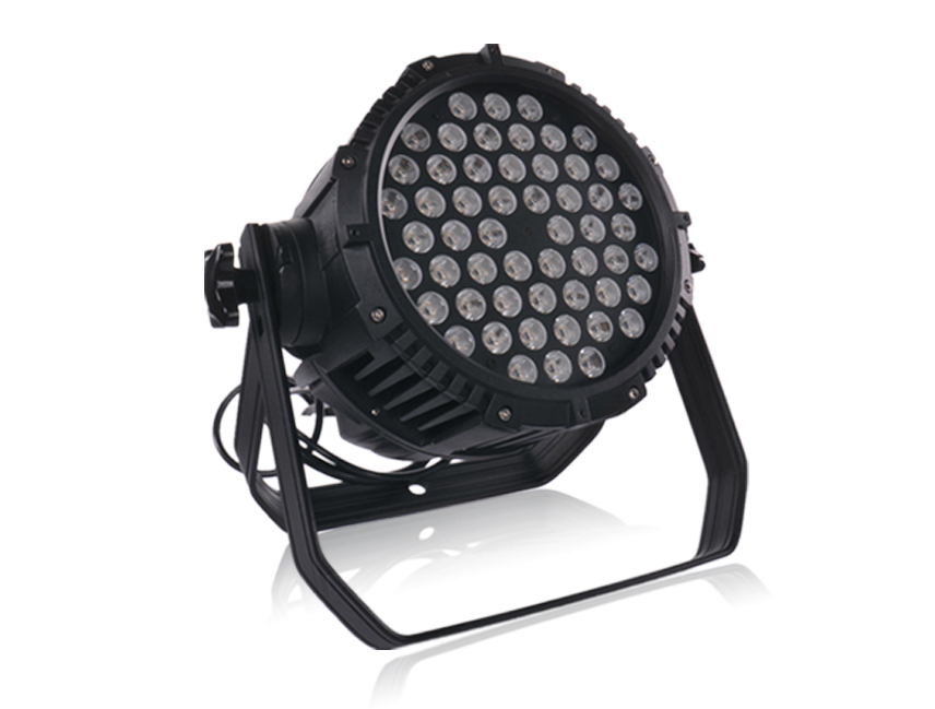 54x3W led RGBW waterproof par light ip65 led round lights