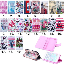 high quality PU Leather Cute Cartoon Flip Stand Wallet Case Cover For iPhone 4/4S 5S 6/6Plus