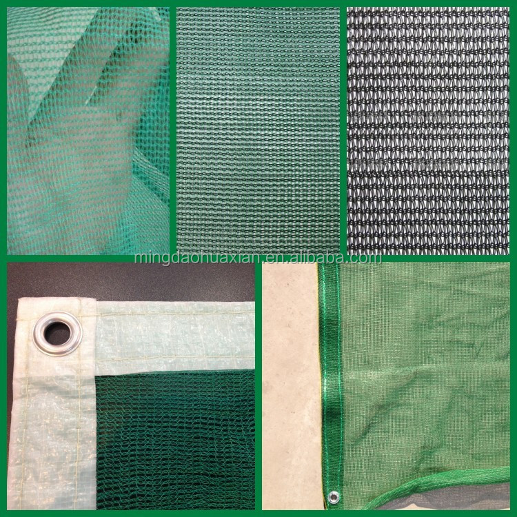 HDPE agricultural shade net, greenhouse sun shade net