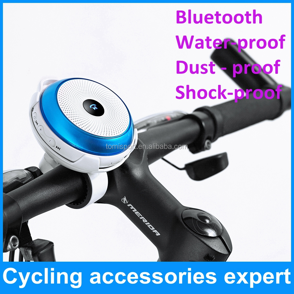 Professional waterproof nogo portable bluetooth speaker for bicycle