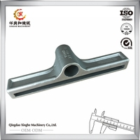 Customzied iron sand casting sand blasting density cast iron parts with grinding