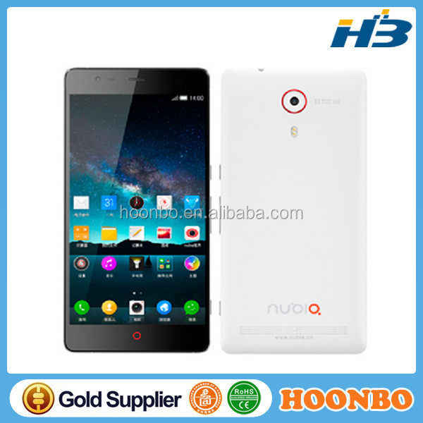 Original 5.5 inch ZTE nubia Z7 Max 4G smartphone RAM 2GB ROM 32GB quad core 2.5GHz Android 4.4 mobile phone