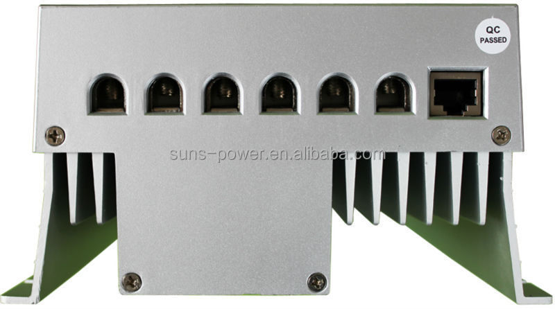 Timer and battery type selection 12v 24V 40A solar MPPT charge controller