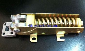 steel hinge of freezer