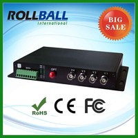 nice price 1-16 channel fiber optic video transmitter receiver