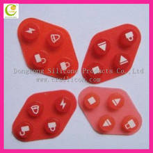 OEM Manufacture Electronic Organ Soft Silicone Buttons, Keyboard, Electronic Silicone Rubber Buttons