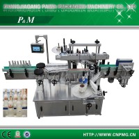 Automatic beverage bottle label applicator