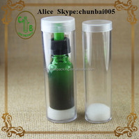 NEW Packing for eliquid glass bottle, PS tube for 20ml bottles