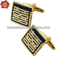 Chinese double love wedding anniversary cufflinks