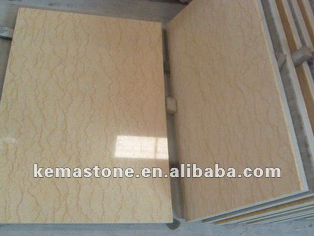 Egyptian Sunny Yellow Marble Tile