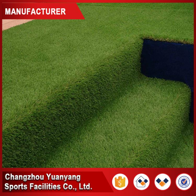 Brand new natural plastic pvc green artificial rubber grass for wholesales