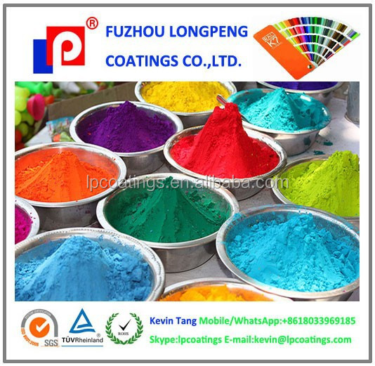 Bright and colorful Polyester powder coating
