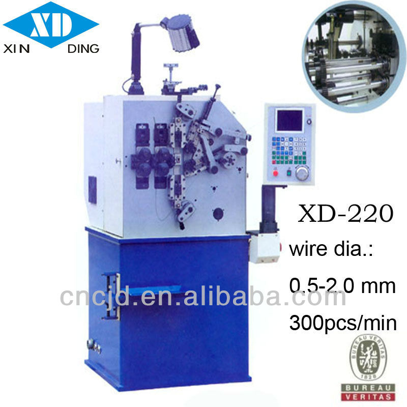 (0.5~2.0mm)Cost Effective Automatic Bonnell Spring Coiling Machine for spring coiler