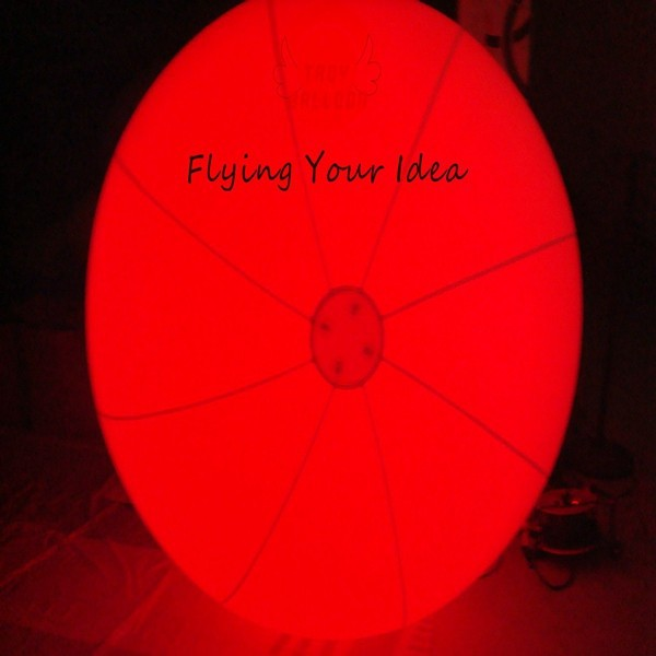 2014 hot sell LED giant advertising balloons air tight inflatable light balloon