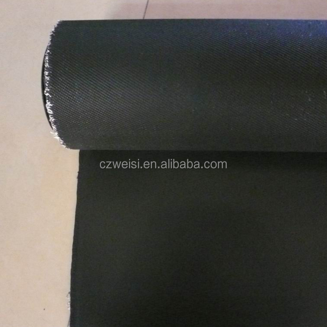 black fiberglass cloth, insulated fabric material, indoor wall material