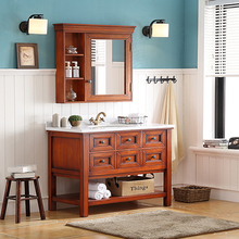 "30"""" wooden base bathroom vanity combo mirror cabinet designs"