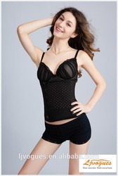 100% New Arrival Fashion Polk Dot Cheap Corsets and Bustiers