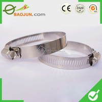 high quality 304 stainless steel strong hose clamps
